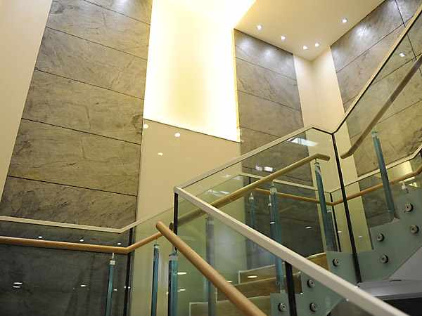 exclusive wall design - stairway